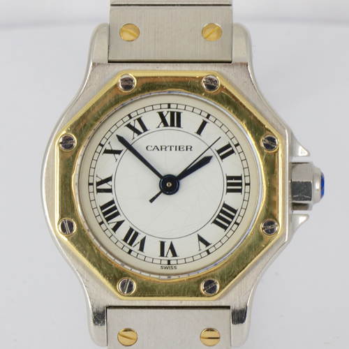 Cartier Automatic Stahl Gold
