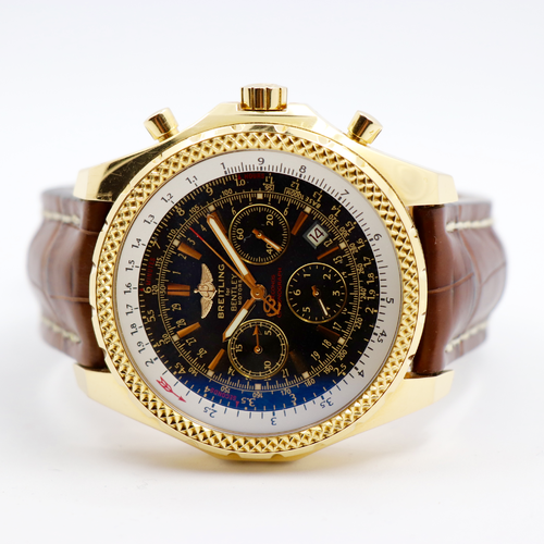 Breitling for Bentley 18 Karat Gold mit Box und Papiere
